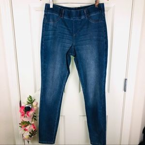 Mixit pull on denim jeans jeggings size large
